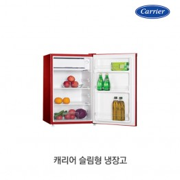 [Carrier] 캐리어 클라윈드 슬림형 냉장고 CRF-TD092RSA [용량:92L][필수견적요청]