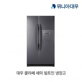 [입고지연][대우전자] 대우 클라쎄 세미 빌트인 냉장고 EKR55DERTS [용량:550L]