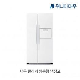 [대우전자] 대우 클라쎄 양문형 냉장고 EKR55DERWE [용량:550L]