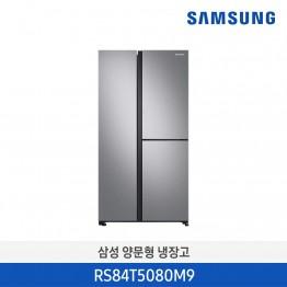 [삼성전자] 삼성 양문형 냉장고 RS84T5080M9 [용량:845L]