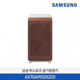 [삼성전자] 삼성 BESPOKE 큐브™ Air 펫케어 공기청정기 70㎡ AX70A9550GDD