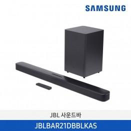 [삼성전자] JBL Bar 2.1 Deep Bass JBLBAR21DBBLKAS