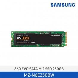 [삼성전자] SSD 860 EVO SATA M.2 250GB MZ-N6E250BW