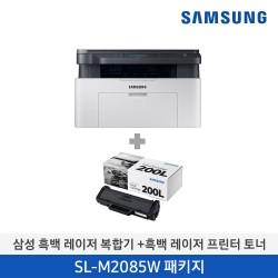 [삼성전자] 삼성 흑백 레이저 복합기 SL-M2085W + 토너 1개 (K) SL-M2085W/CON