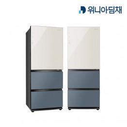[위니아딤채] 위니아딤채 클라쎄 스탠드형 김치냉장고 WRKQ37EPBBS [용량:328L]